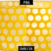 P86 ~ Batik Dots on Yellow
