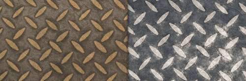 View Full Range of Products in P88 - Batik Tread Plate Grey