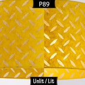 P89 ~ Batik Tread Plate Yellow