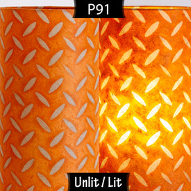 P91 - Batik Tread Plate Orange