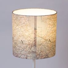 20cm(w) x 20cm(h) x 13cm(d) Oval Lamp Shade - Cassini Historical Map (1903 - 1910)