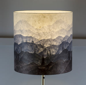 Hand-drawn Original Ink Sketch Drum Lamp Shade
