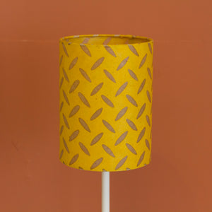 Square Lamp Shade - P89 ~ Batik Tread Plate Yellow, 40cm(w) x 20cm(h) x 40cm(d)