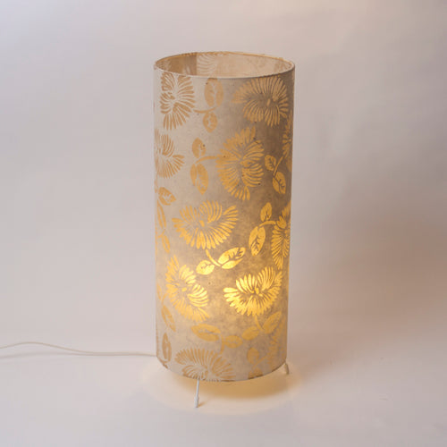 Free Standing Table Lamp Large - P09 - Batik Peony