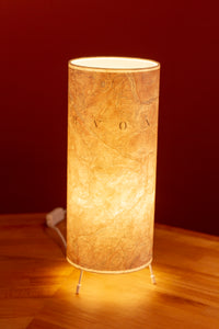 Free Standing Table Lamp - Snowdonia 1903 Cassini Map