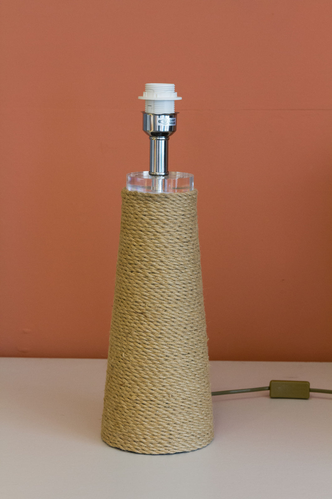 Rope Table Lamp (Base only)