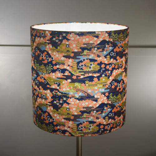 Drum Lamp Shade - W06 ~ Kyoto, 30cm(d) x 30cm(h)