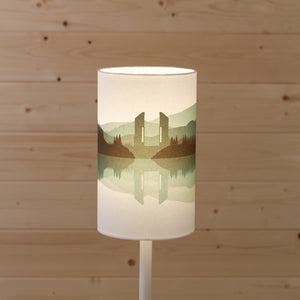 Landscape #2 Print (Drum Lamp Shade Only) - Green