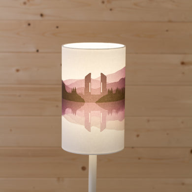 Landscape #2 Print (Drum Lamp Shade Only) - Purple
