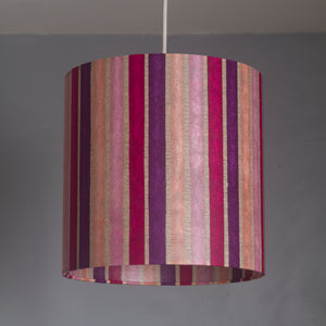 Triangle Lamp Shade - P04 - Batik Stripes Pink, 20cm(w) x 30cm(h)