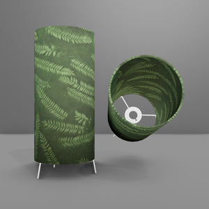 Free Standing Table Lamp Small - P27 ~ Resistance Dyed Green Fern