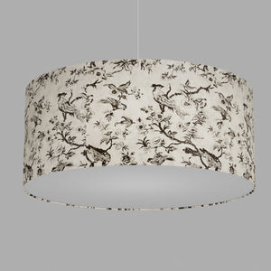Drum Lamp Shade - P41 - Oriental Birds, 70cm(d) x 30cm(h)