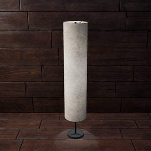 Drum Floor Lamp - P54 - Natural Lokta, 22cm(d) x 114cm(h)