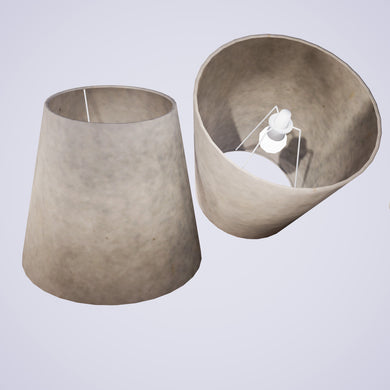 Conical Lamp Shade P54 - Natural Lokta, 23cm(top) x 35cm(bottom) x 31cm(height)