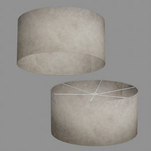 Drum Lamp Shade - P54 - Natural Lokta, 60cm(d) x 30cm(h)