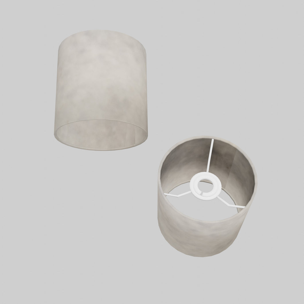 Drum Lamp Shade - P54 - Natural Lokta, 15cm(d) x 15cm(h)