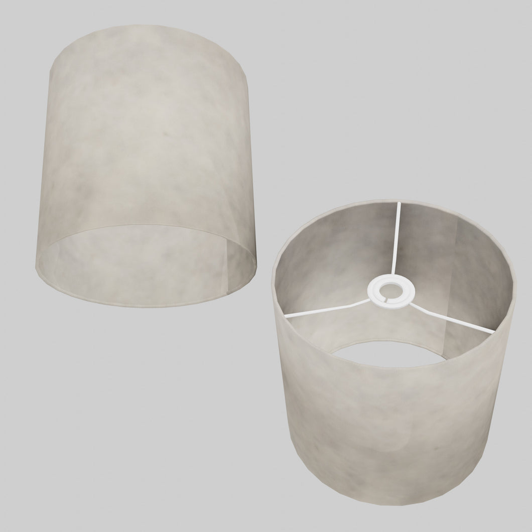 Drum Lamp Shade - P54 - Natural Lokta, 25cm x 25cm