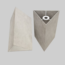 Triangle Lamp Shade - P54 - Natural Lokta, 20cm(w) x 30cm(h)