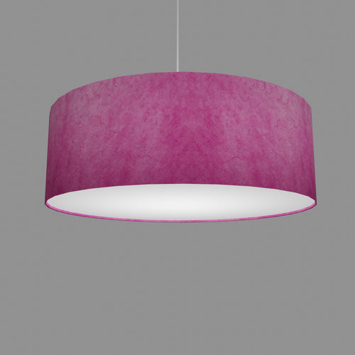 Drum Lamp Shade - P57 - Hot Pink Lokta, 60cm(d) x 20cm(h)