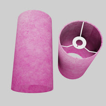 Drum Lamp Shade - P57 - Hot Pink Lokta, 15cm(d) x 30cm(h)
