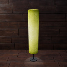 Drum Floor Lamp - P61 - Lime Lokta , 22cm(d) x 114cm(h)