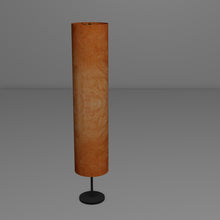 Drum Floor Lamp - P63 - Terracotta Lokta, 22cm(d) x 114cm(h)