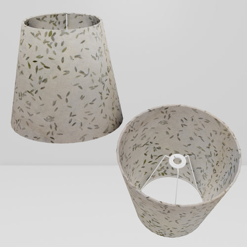 Conical Lamp Shade P95 - Little Leaves, 23cm(top) x 35cm(bottom) x 31cm(height)