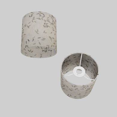 Drum Lamp Shade - P95 - Little Leaves, 15cm(d) x 15cm(h)