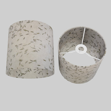 Drum Lamp Shade - P95 - Little Leaves, 20cm(d) x 20cm(h)