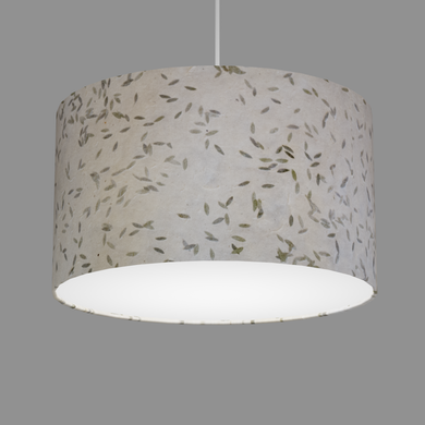 Drum Lamp Shade - P95 - Little Leaves, 35cm(d) x 20cm(h)
