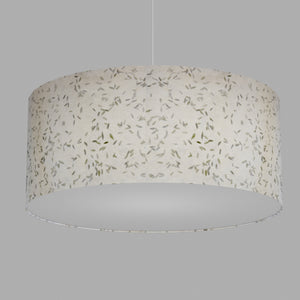 Drum Lamp Shade - P95 - Little Leaves, 70cm(d) x 30cm(h)