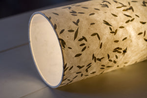 2 Tier Lamp Shade - P95 - Little Leaves, 40cm x 20cm & 30cm x 15cm