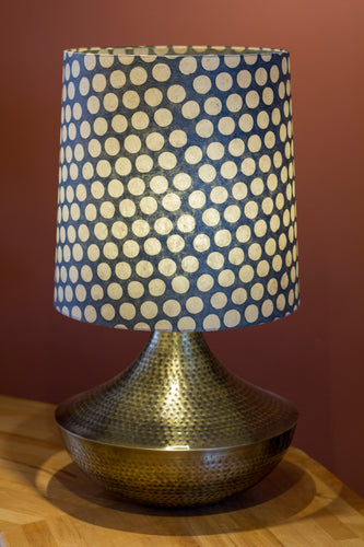 Large Patna Table Lamp with Conical Lamp Shade P78