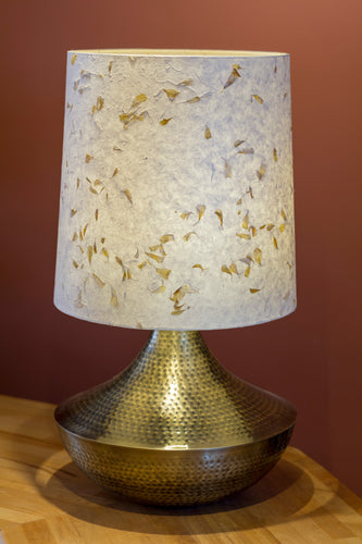 Large Patna Table Lamp with Conical Lamp Shade P32