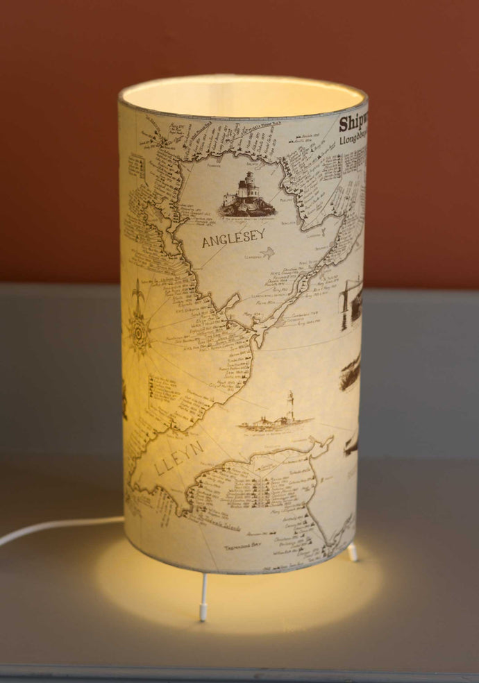 Shipwrecks of North Wales - Free-standing Table Lamp