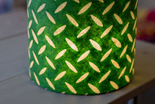 Triangle Lamp Shade - P96 - Batik Tread Plate Green, 40cm(w) x 40cm(h)