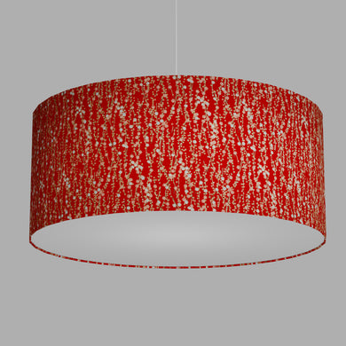 Drum Lamp Shade - W01 ~ Red Daisies, 70cm(d) x 30cm(h)