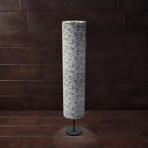 Drum Floor Lamp - W05 ~ Cranes, 22cm(d) x 114cm(h) - Imbue Lighting