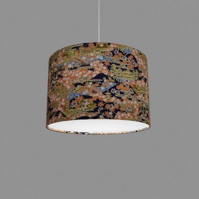 Drum Lamp Shade - W06 ~ Kyoto, 30cm(d) x 20cm(h)