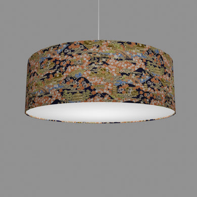 Drum Lamp Shade - W06 - Kyoto, 60cm(d) x 20cm(h)