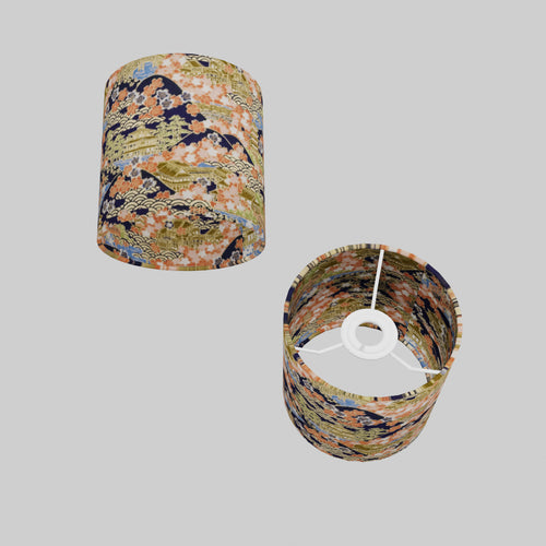 Drum Lamp Shade - W06 ~ Kyoto, 15cm(d) x 15cm(h)