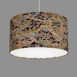Drum Lamp Shade - W06 ~ Kyoto, 35cm(d) x 20cm(h)