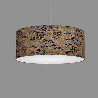 Drum Lamp Shade - W06 - Kyoto, 50cm(d) x 20cm(h)