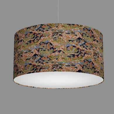 Drum Lamp Shade - W06 ~ Kyoto, 60cm(d) x 30cm(h)