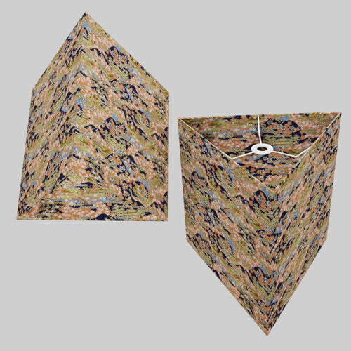 Triangle Lamp Shade - W06 ~ Kyoto, 40cm(w) x 40cm(h)