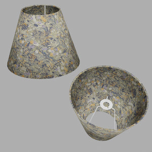 Conical Lamp Shade W08 ~ Lily Pond, 15cm(top) x 30cm(bottom) x 22cm(height)