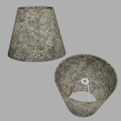 Conical Lamp Shade W08 ~ Lily Pond, 23cm(top) x 40cm(bottom) x 31cm(height)