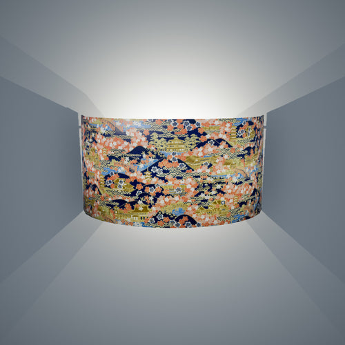 Wall Light - W06 - Kyoto, 36cm(wide) x 20cm(h) - Imbue Lighting
