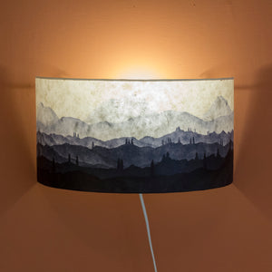 Original Ink Sketch Wall Light Shade
