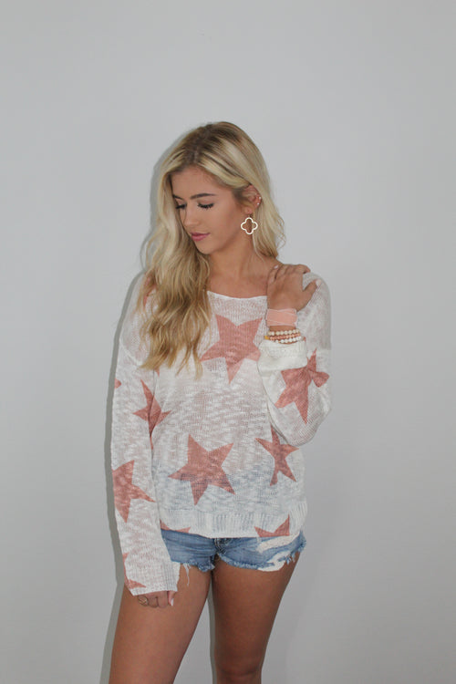 Star Twist Back Top